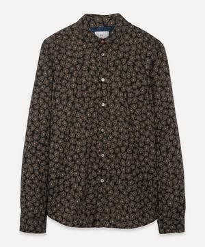 Scribble Floral Print Shirt