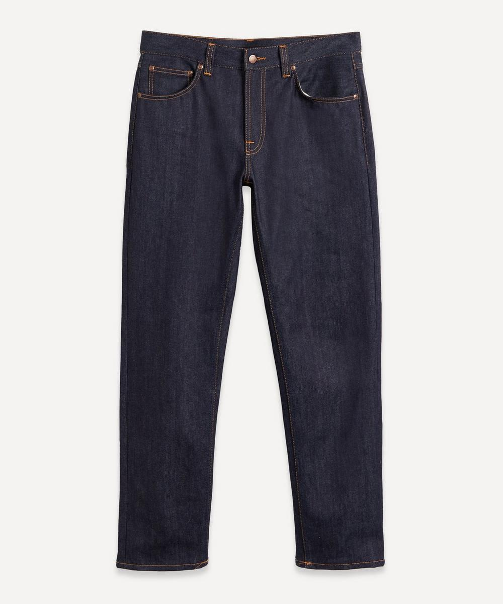 Nudie Jeans - Gritty Jackson Dry Classic Navy Jeans