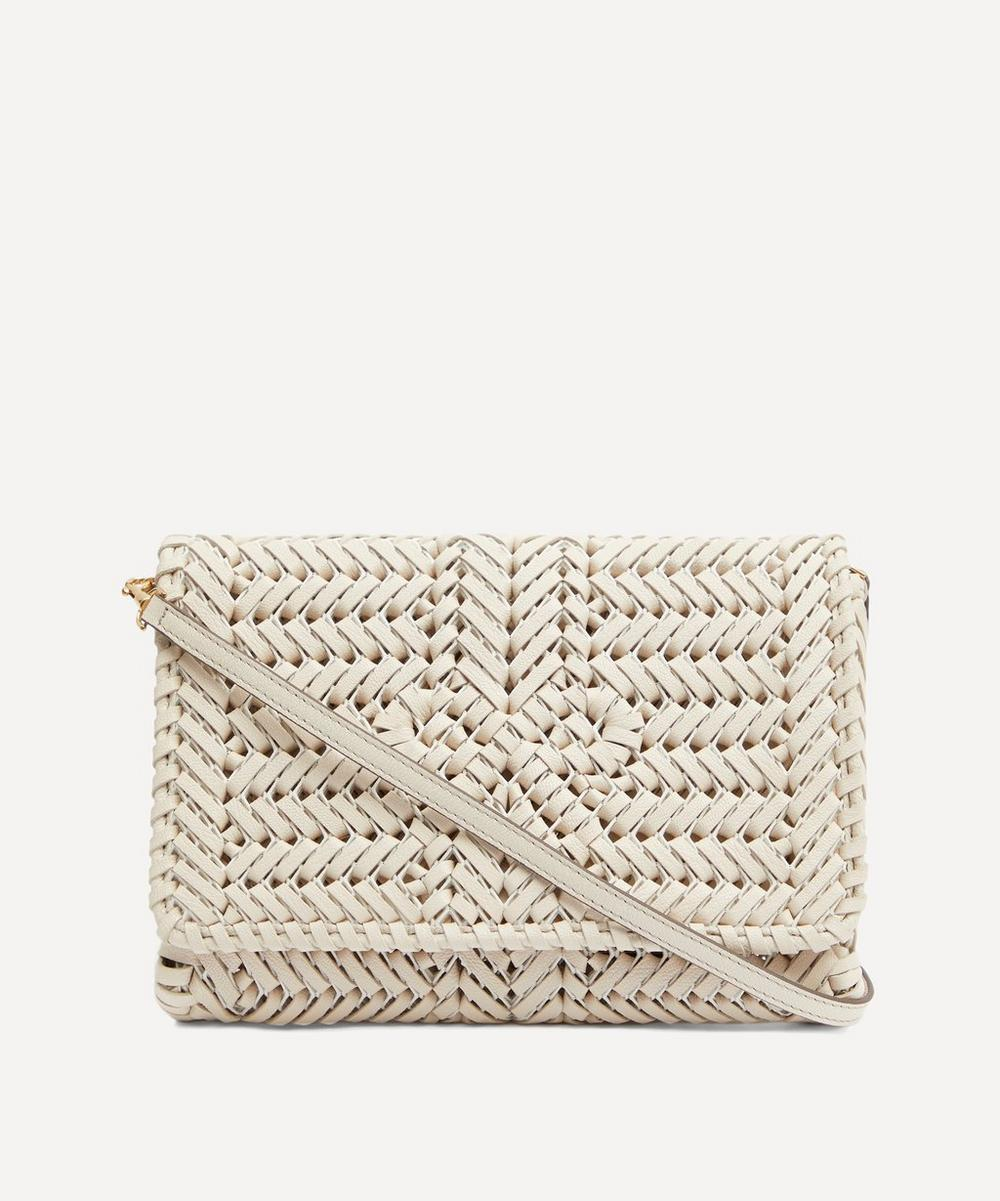 Anya Hindmarch - Neeson Woven Leather Cross-Body Bag