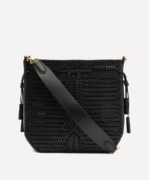 Neeson Woven Leather Hobo Bag