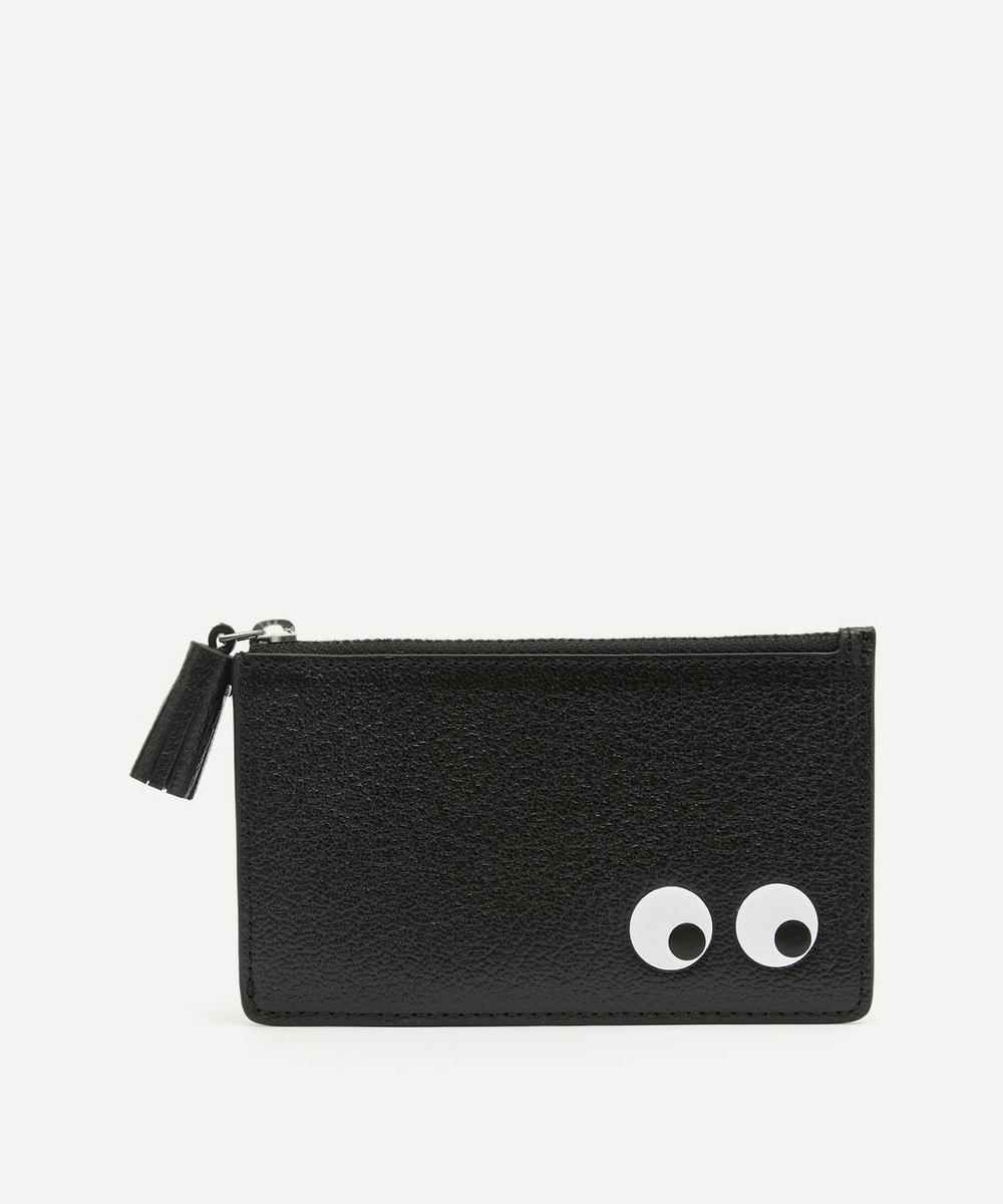 Anya Hindmarch - Eyes Zipped Leather Card Case
