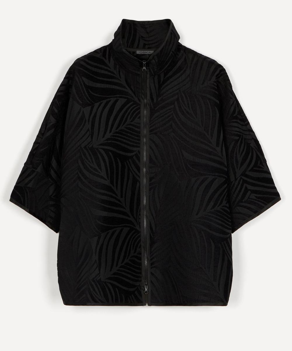 Oska - Vecci Leaf Jacquard Jacket