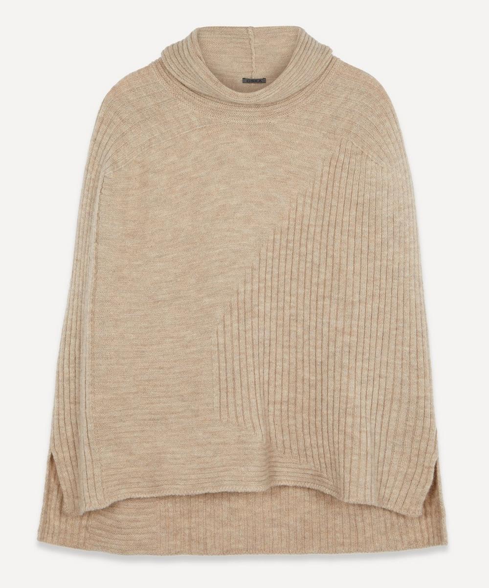 Oska - Zelo Roll-Neck Sleeveless Wool Knit