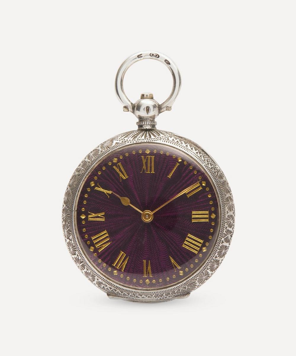 Designer Vintage - Victorian Silver Fob Watch