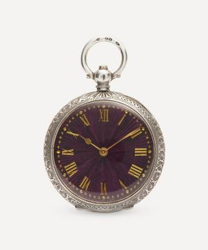 Victorian Silver Fob Watch