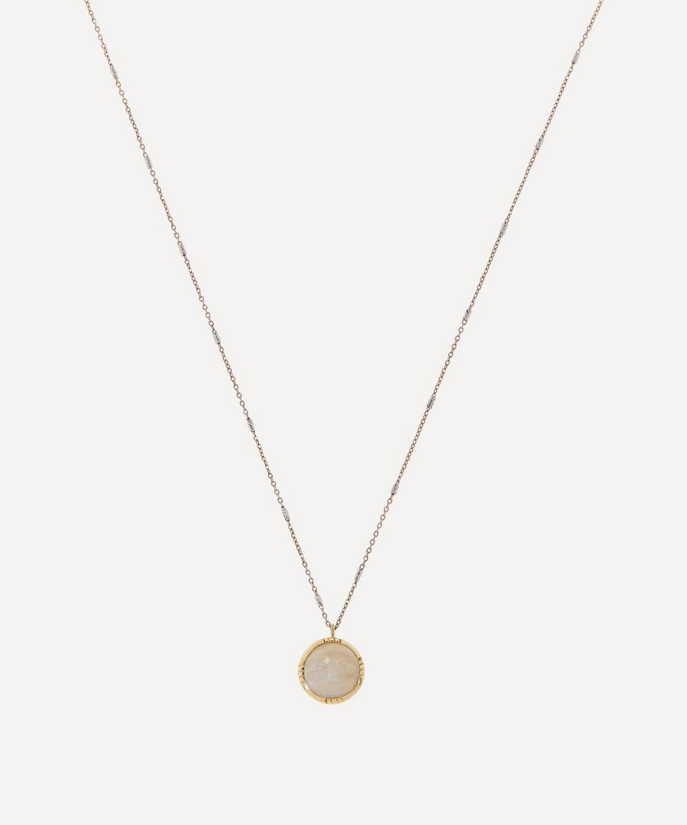 Brooke Gregson - Mini Moon Moonstone Necklace