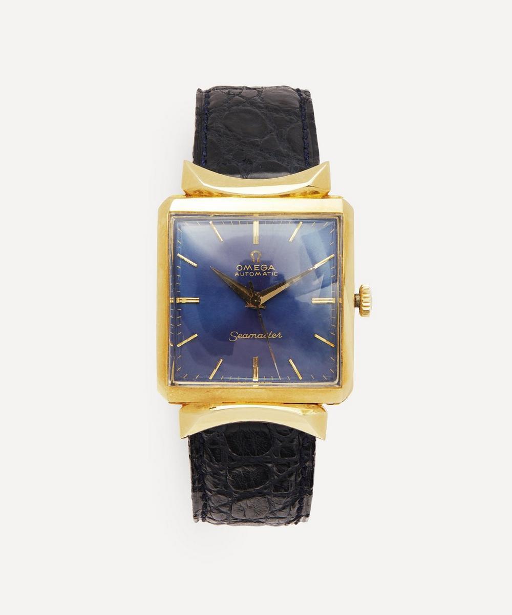 Designer Vintage - 1960s Omega Automatic Seamaster 18 Carat Gold Watch