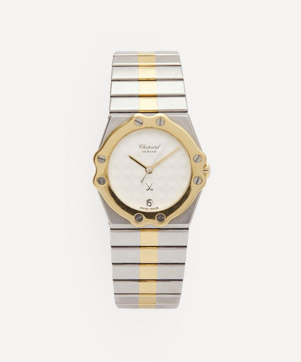 Designer Vintage - 1980s Chopard St Moritz 18 Carat Gold and Steel Watch