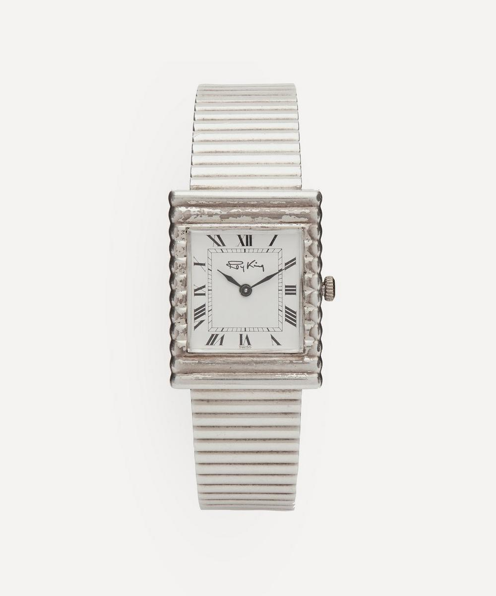 Designer Vintage - 1970s Roy King Silver Watch