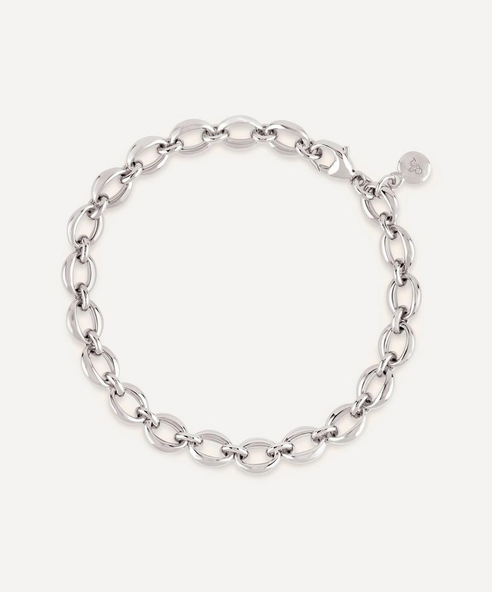 Dinny Hall - Silver Handmade Small Heavyweight Chain Bracelet image number 0