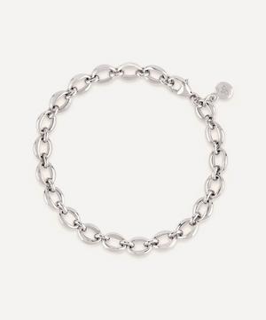 Silver Handmade Small Heavyweight Chain Bracelet