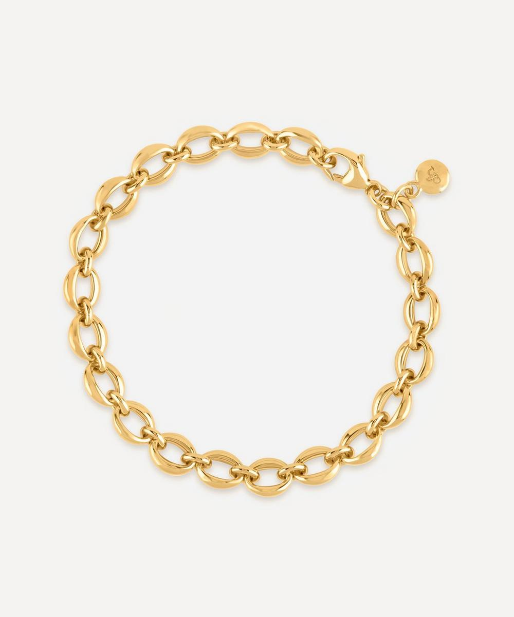 Dinny Hall - Gold Plated Vermeil Silver Handmade Small Heavyweight Chain Bracelet