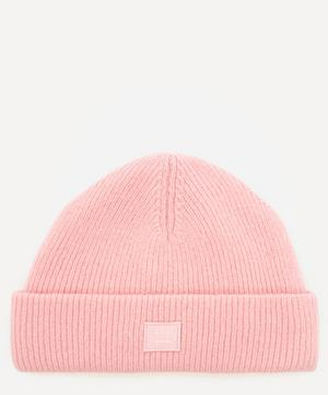 Pansy Face Wool Beanie