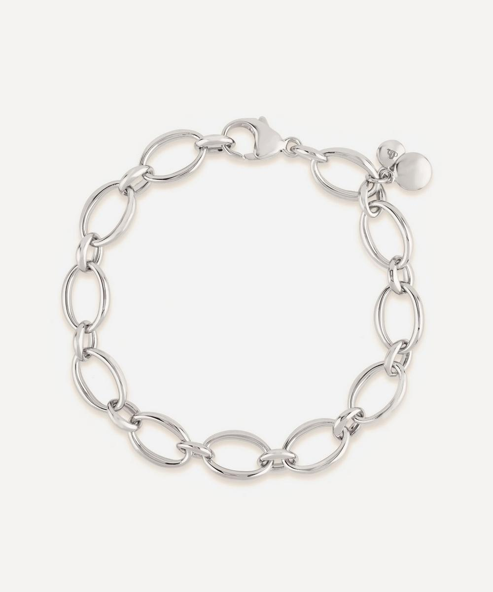 Dinny Hall - Silver Handmade Medium Oval Link Chain Bracelet