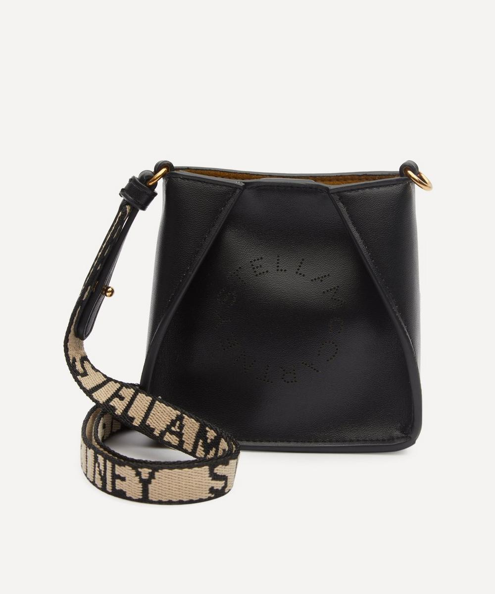 Stella McCartney - Micro Stella Logo Faux Leather Shoulder Bag