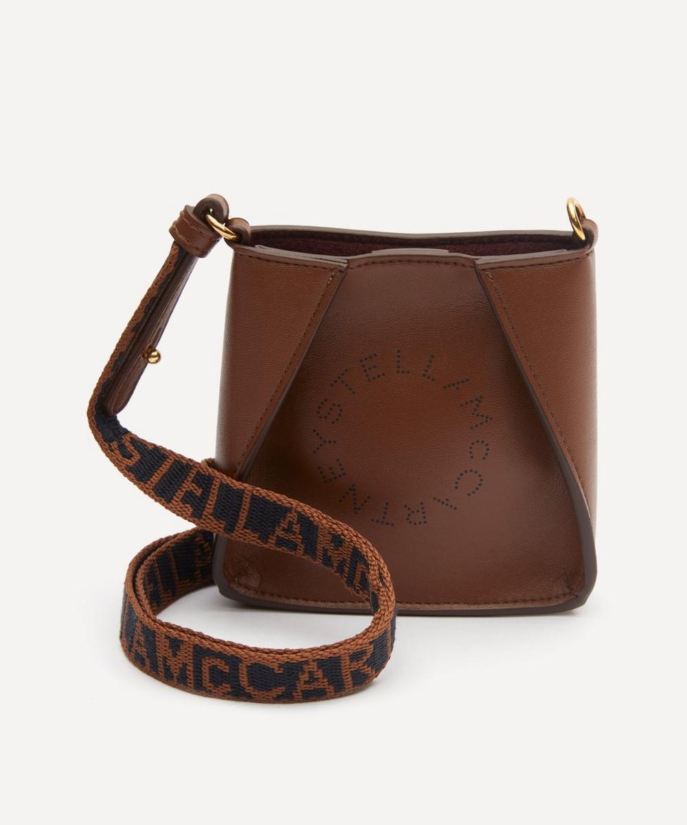 Stella McCartney - Mini Stella Logo Faux Leather Shoulder Bag