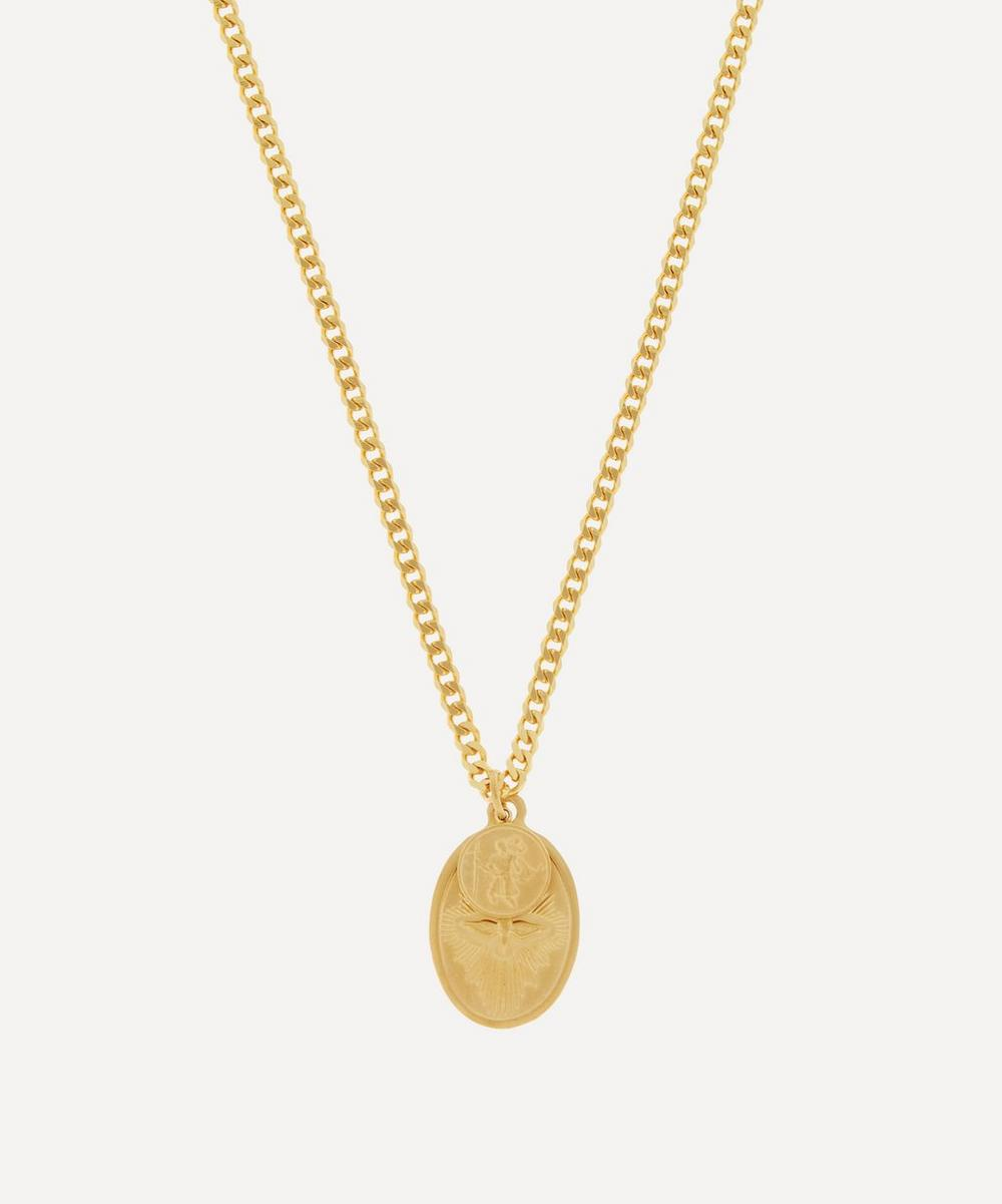 Miansai - Gold-Plated Dove Pendant Necklace