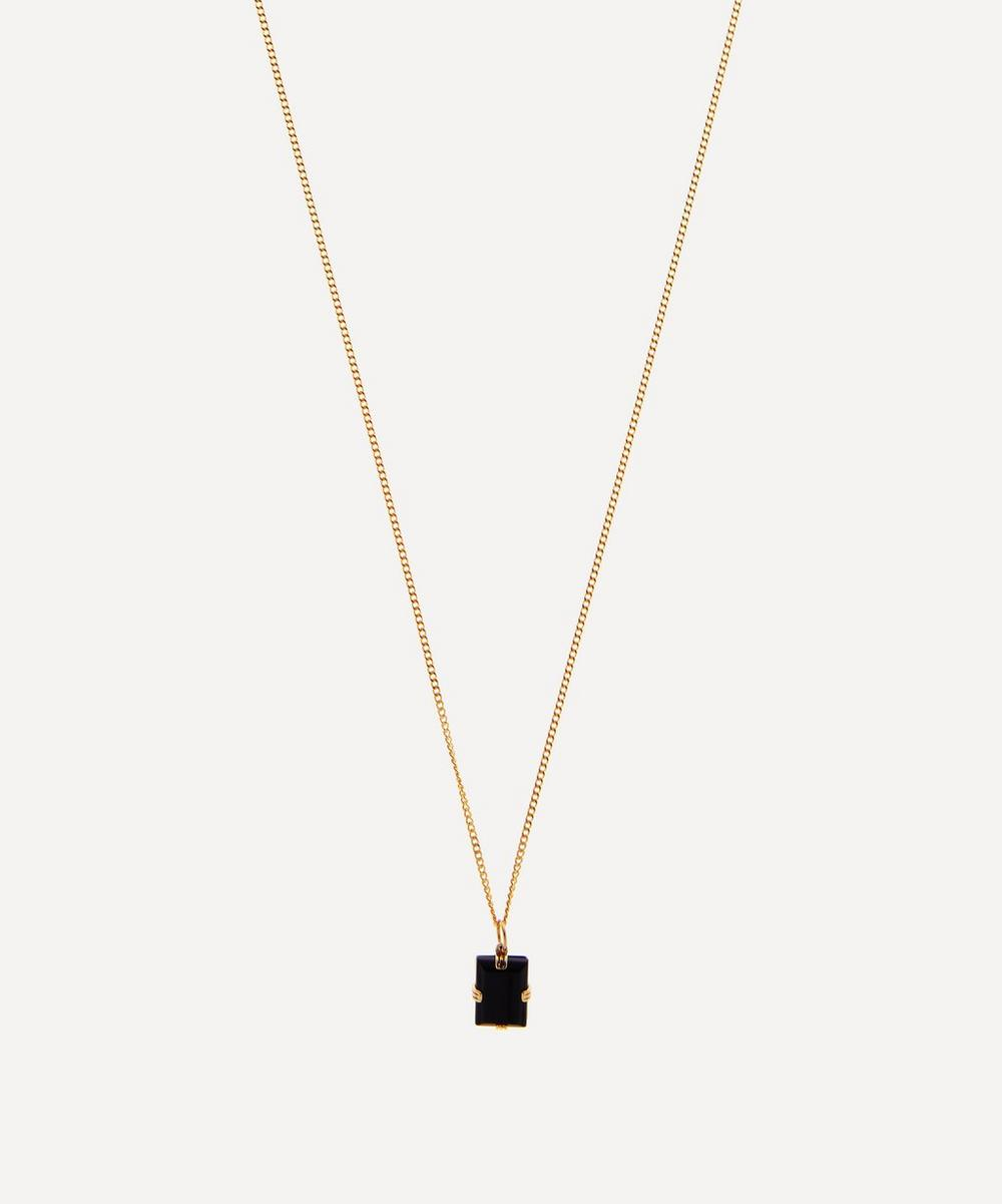 Miansai - Gold-Plated Lennox Onyx Necklace
