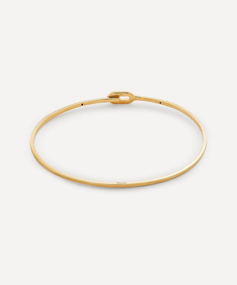Miansai - Gold-Plated Ace Cuff Bracelet