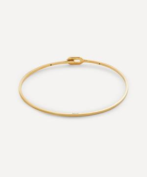 Gold-Plated Ace Cuff Bracelet