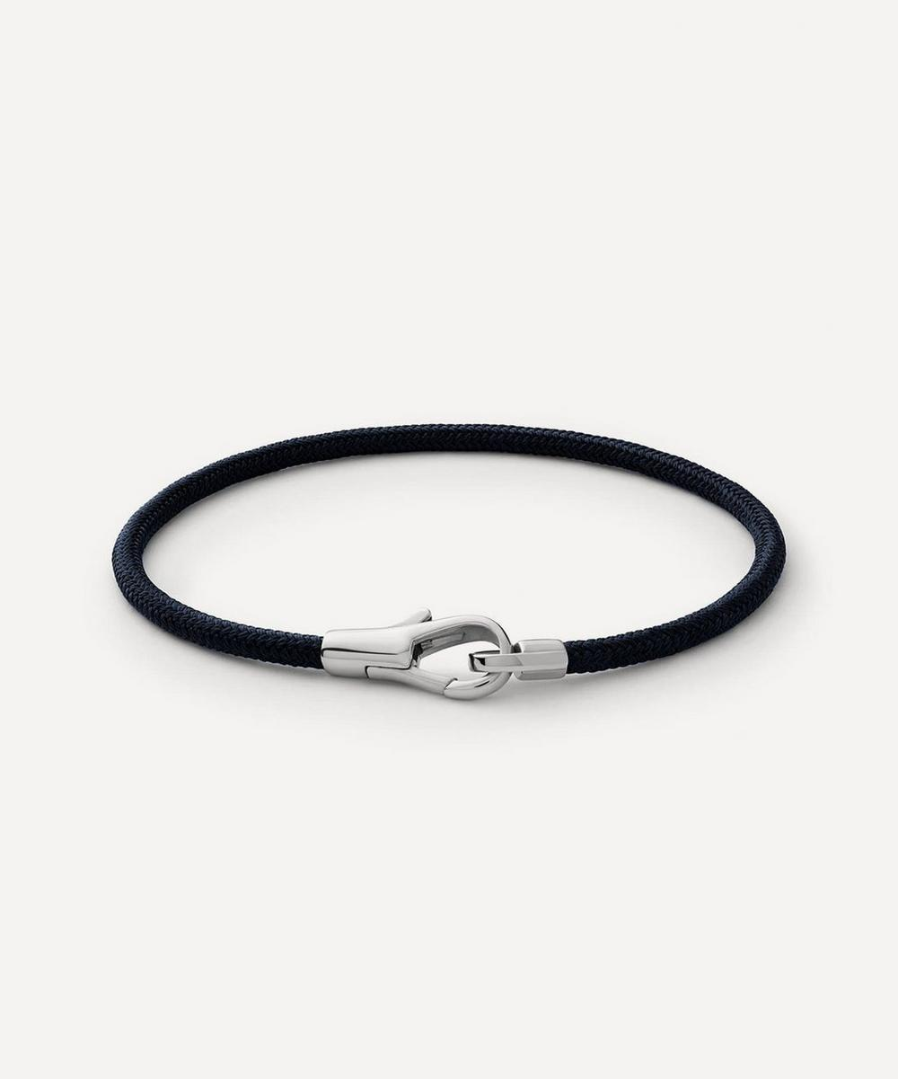 Miansai - Sterling Silver Knox Rope Bracelet