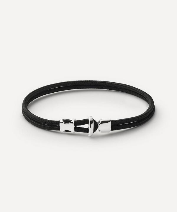 Miansai - Sterling Silver Orson Loop Bungee Rope Bracelet