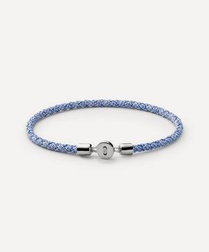 Sterling Silver Nexus Ribbon Bracelet