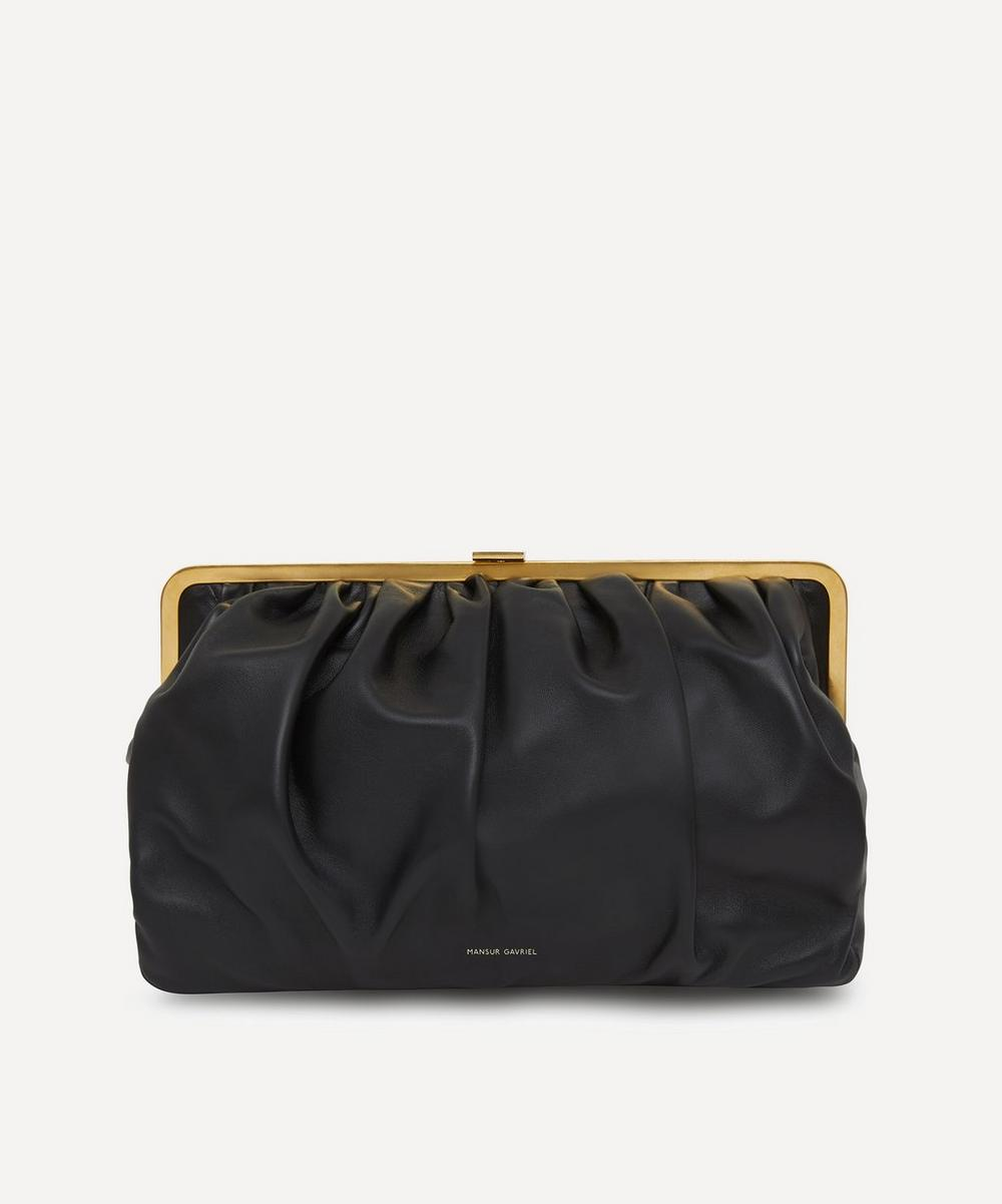 Mansur Gavriel - Wave Frame Leather Clutch Bag