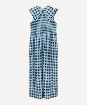 Smock Maxi-Dress