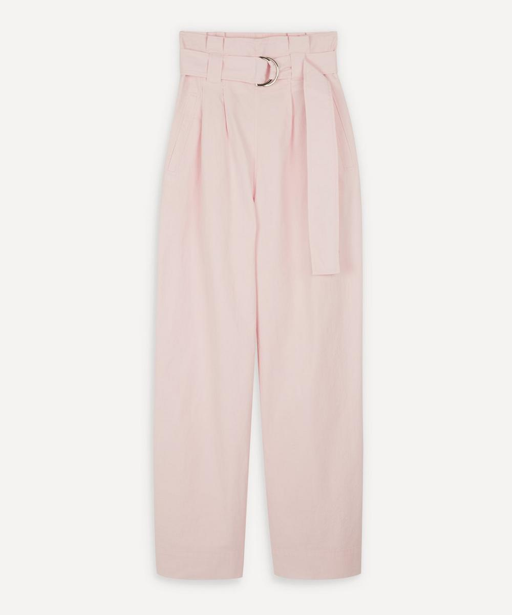 Ganni - Ripstop Belted Trousers