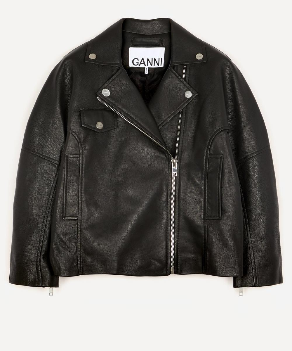 Ganni - Light Grain Leather Jacket