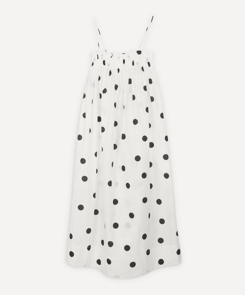 Ganni - Polka-Dot Strappy Dress