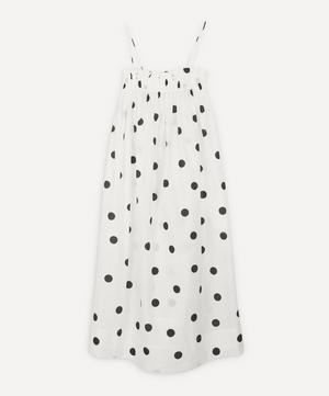 Polka-Dot Strappy Dress