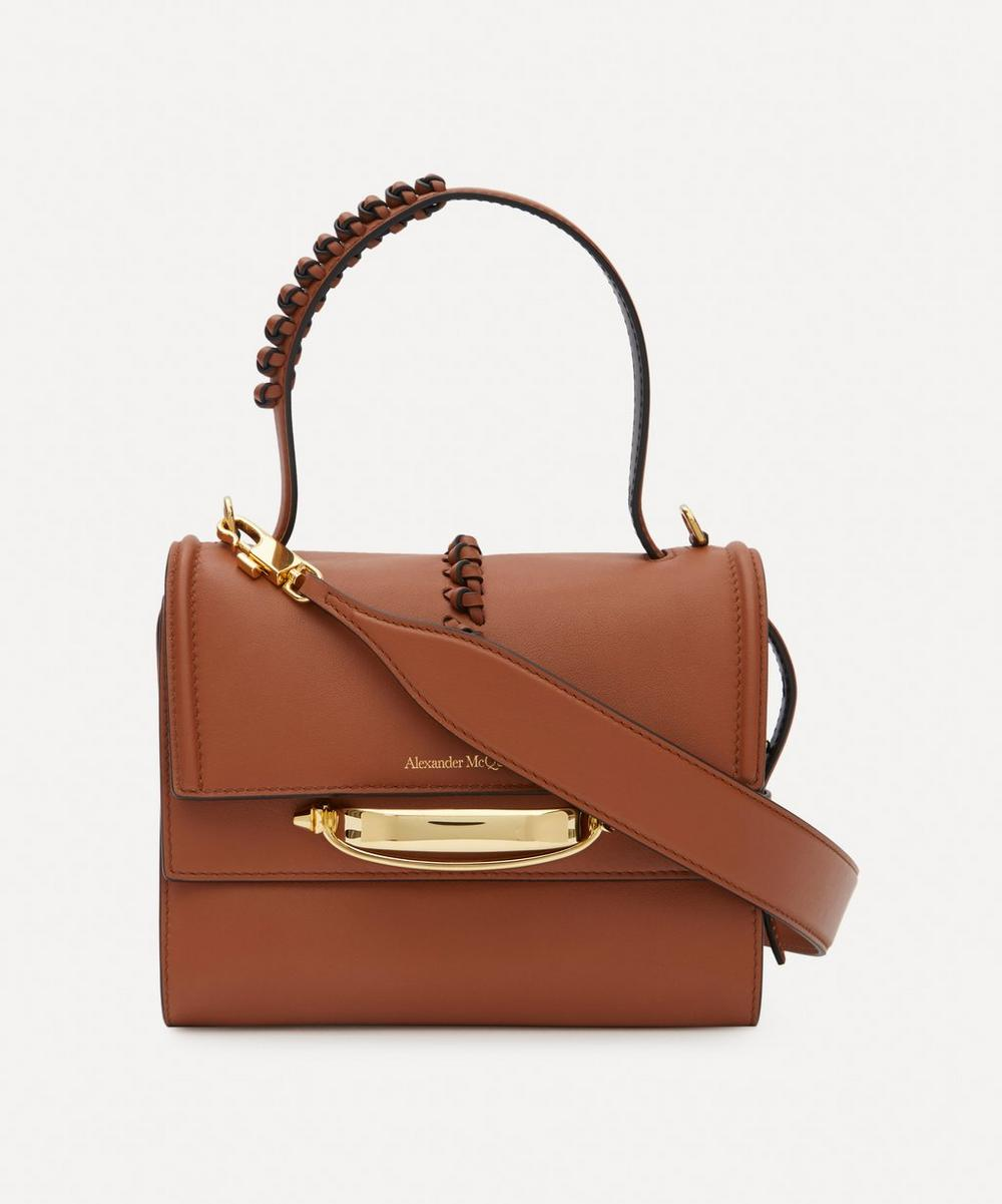 Alexander McQueen - The Story Knotted Leather Cross-Body Bag