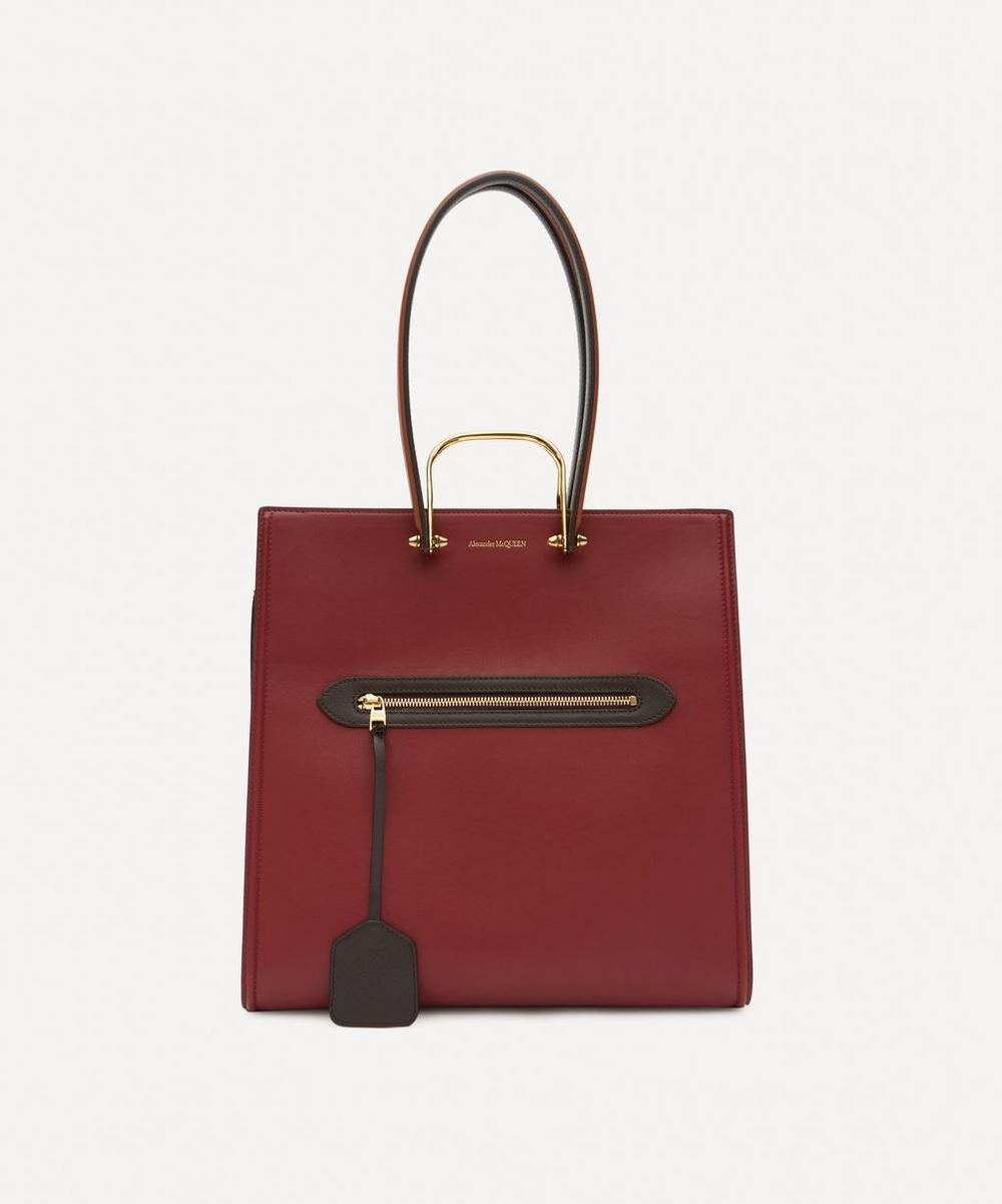 Alexander McQueen - The Tall Story Leather Handbag