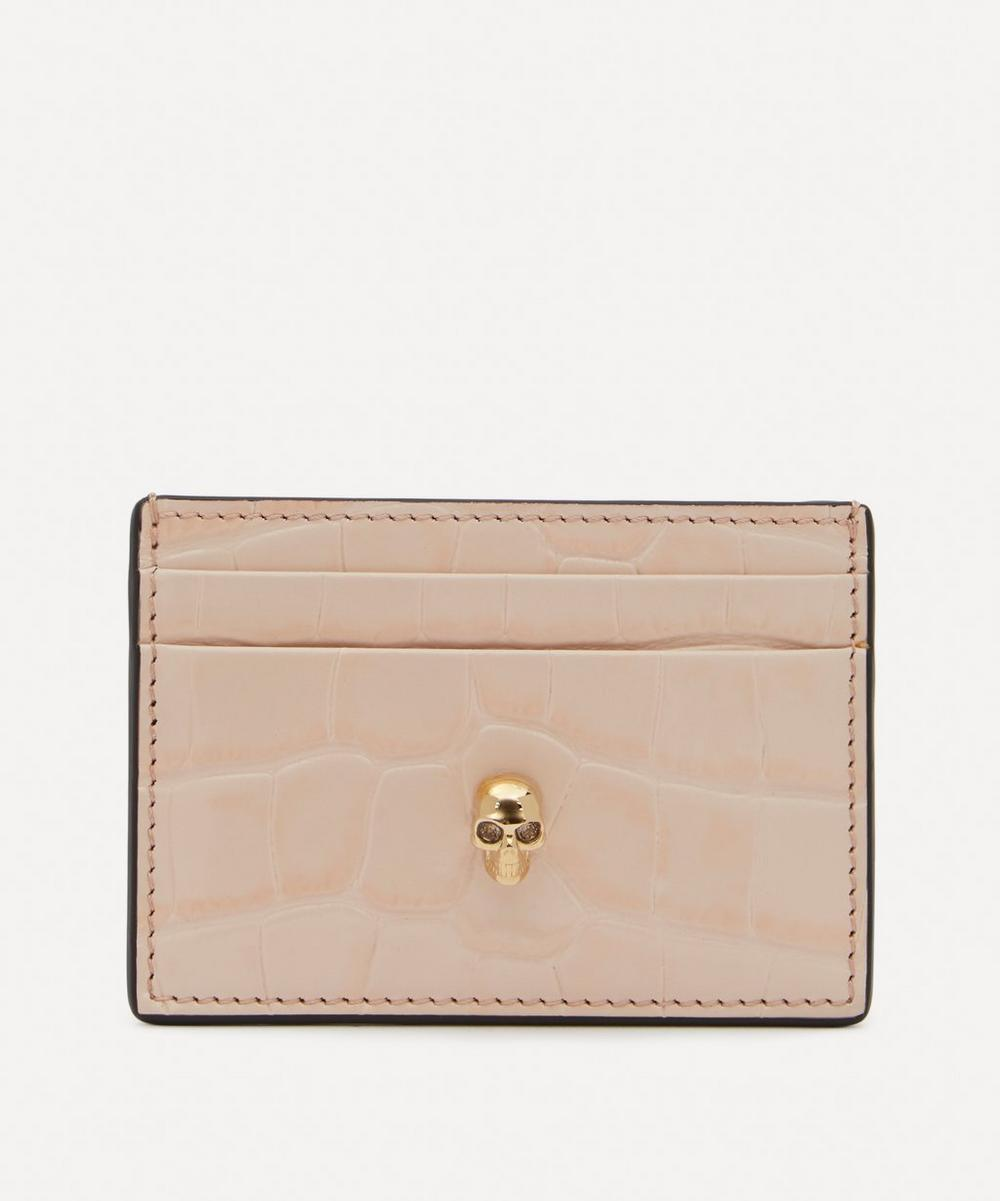 Alexander McQueen - Leather Skull Card Holder
