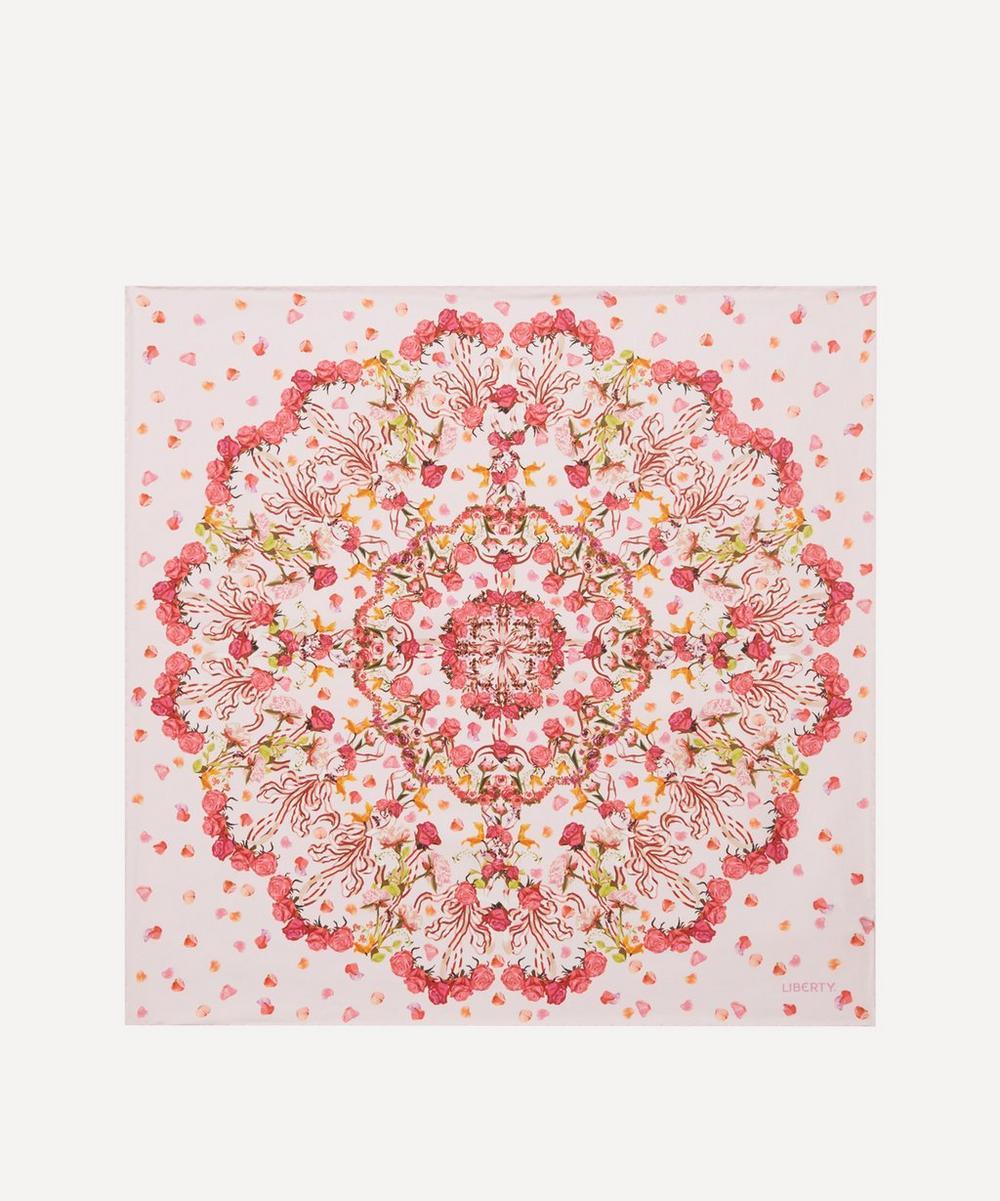 Liberty - Floral Storm 45 x 45cm Silk Twill Scarf