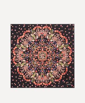Floral Storm 45 x 45cm Silk Twill Scarf