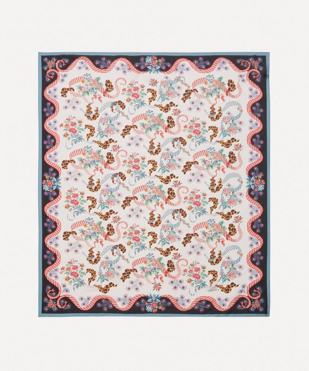Liberty - Spitalfields Silk 130 x 110cm Silk Molare Scarf