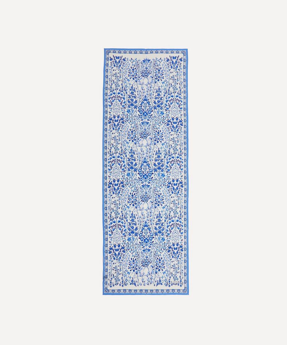 Liberty - Silverwood 70 x 180cm Crepe de Chine Silk Scarf