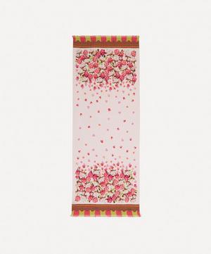 Floral Storm 180 x 70cm Silk Twill Scarf