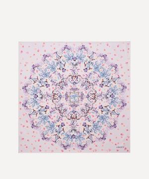 Floral Storm 90 x 90cm Silk Twill Scarf