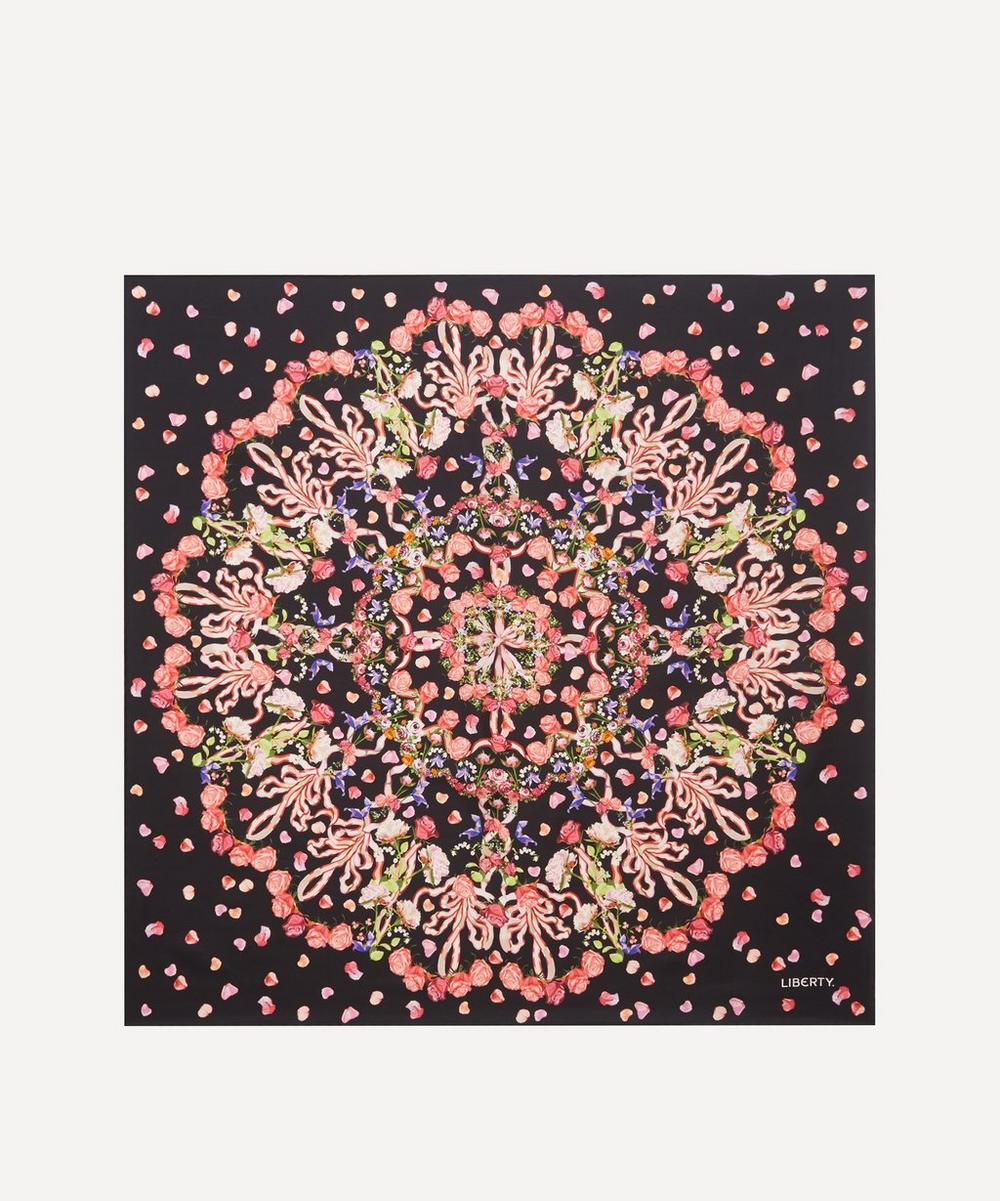 Liberty - Floral Storm 90 x 90cm Silk Twill Scarf
