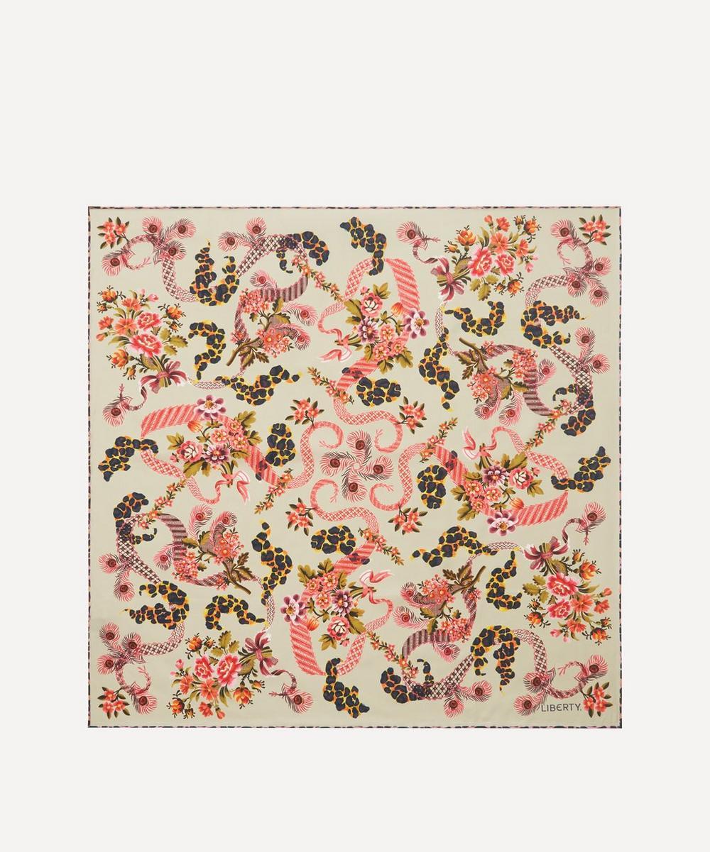 Liberty - Spitalfields Silk 70 x 70cm Silk Twill Scarf