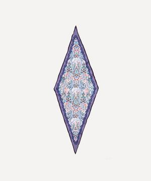 Silverwood 106 x 36cm Silk Twill Lozenge Scarf