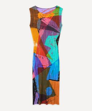 Swing Print Sleeveless Dress
