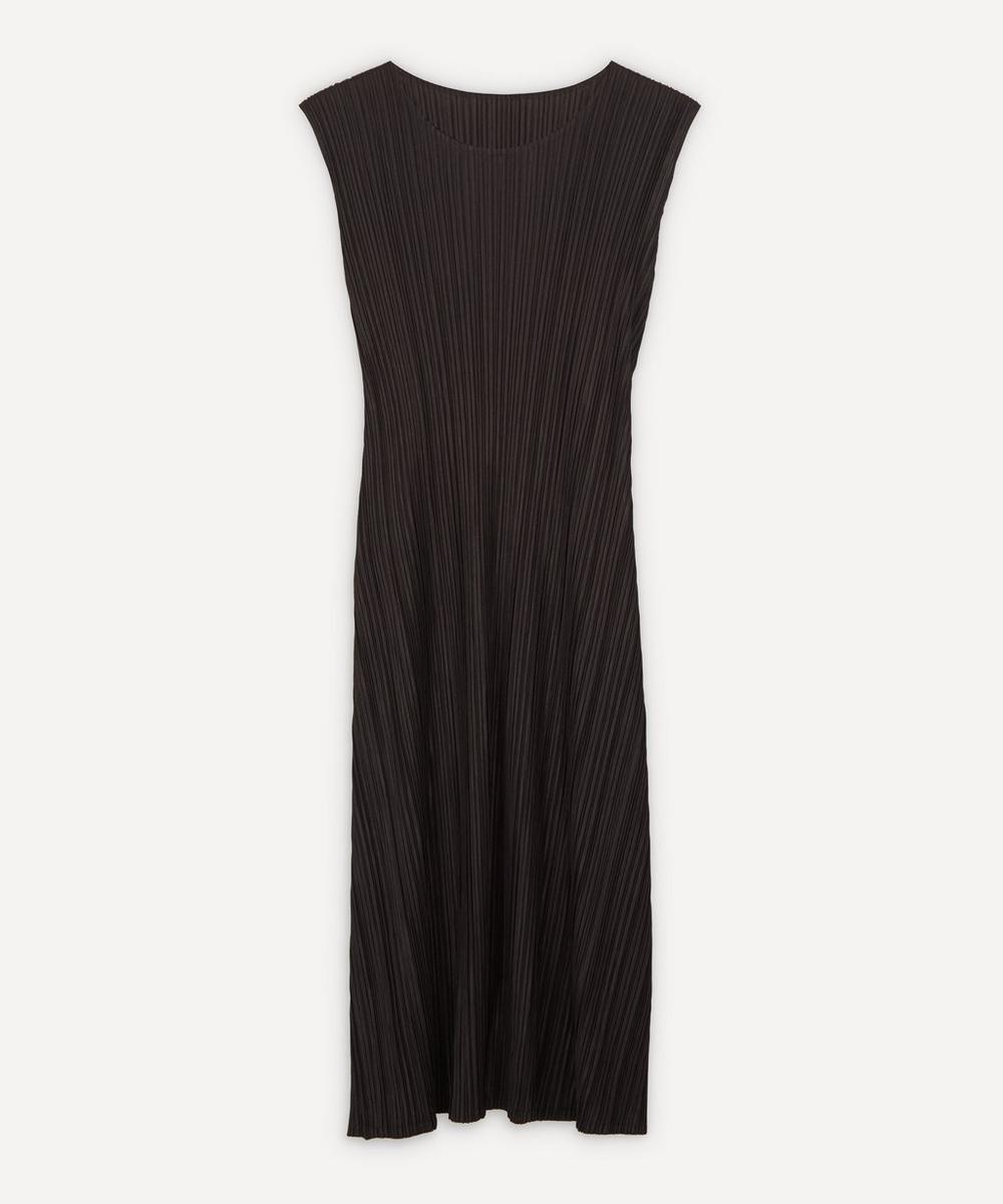 Pleats Please Issey Miyake - Sleeveless Pleated Dress