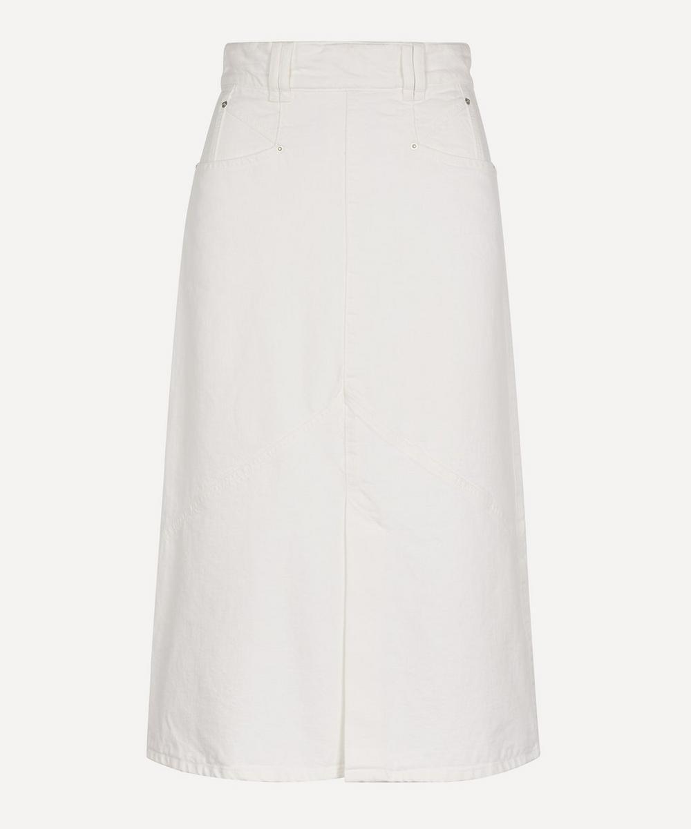 Isabel Marant - Domano Panelled Denim Skirt
