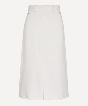 Domano Panelled Denim Skirt