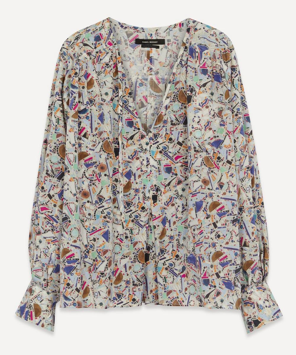 Isabel Marant - Amba Printed Cotton Blouse